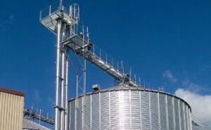 Getreidesilo mit Schutzgas